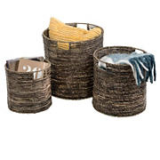 Honey-Can-Do 3-Pc. Geo Baskets