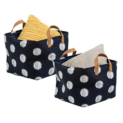 Canvas 2-Pc. Scribble Totes Set