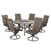 Berkley Jensen Seaport 7-Pc. Padded Sling Dining Set