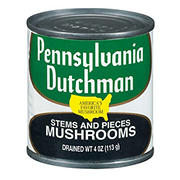 Giorgio/Pennsylvania Dutchman Mushroom Pieces and Stems, 12 pk./4 oz.