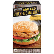 Steak-EZE Grilled Chicken Sandwich, 12 ct.