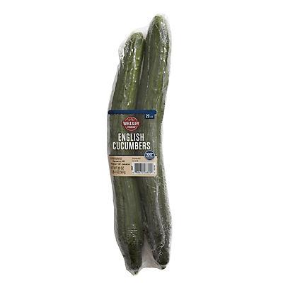 English Seedless Cucumber, 2 ct.