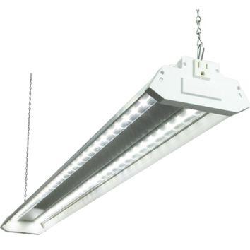 Led Shop Lights >> Lights Of America Linkable Led Shop Light Bjs Wholesale Club