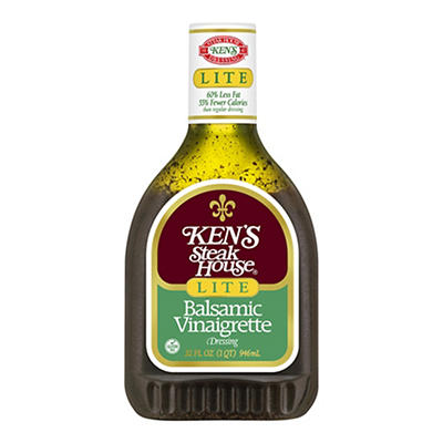 Ken's Steak House Balsamic Vinaigrette Dressing, 32 fl. oz.