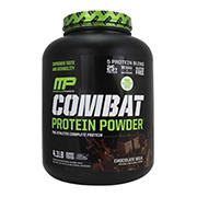 Muscle Pharm Chocolate Combat Protein Powder, 64 oz.