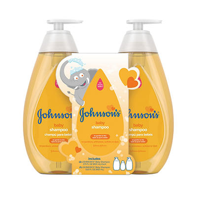 Johnson's Tear Free Formula Baby Shampoo, 2 pk./27.1 fl. oz. Plus 13.6