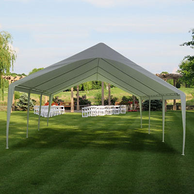 Impact Canopy 20' x 20' Party Canopy Tent - White