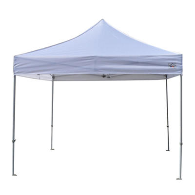 Impact Canopy 10' x 10' Commercial Vending Steel Instant Canopy with P