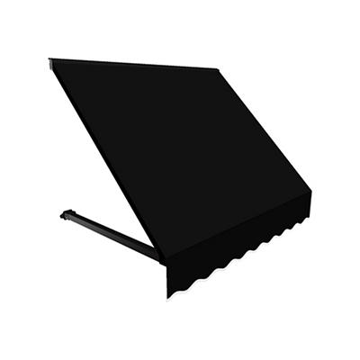 """Awntech Dallas 4' Beauty-Mark Open-Sided Slope Awning with 36"""" Project"""