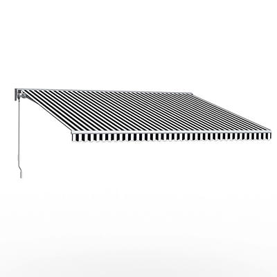 """Awntech DestinLX 10' Right-Facing Retractable Awning with 96"""" Projecti"""
