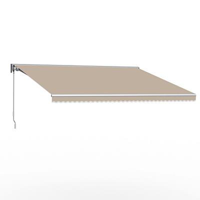 """Awntech DestinLX 8' Left-Facing Retractable Awning with 84"""" Projection"""