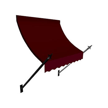 Awntech New Orleans 5 Spear Arm Awning With 24