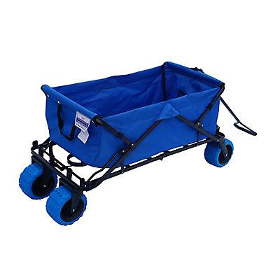 Impact Canopy All Terrain Folding Utility Wagon - Blue