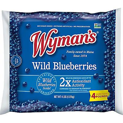 Wyman's of Maine Frozen Wild Blueberries, 4 lbs.