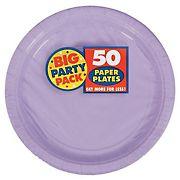 "Amscan 7"" Paper Plates, 300 ct. - Lavender"