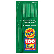 Amscan Medium-Weight Knives, 300 pk. - Festive Green