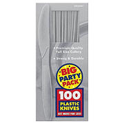 Amscan Medium-Weight Knives, 300 ct. - Silver