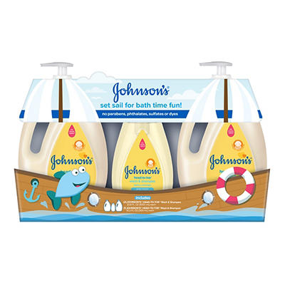 Johnson's Gentle Baby Wash & Shampoo, 2 pk./33.8 fl. oz. Plus 10.2 fl.