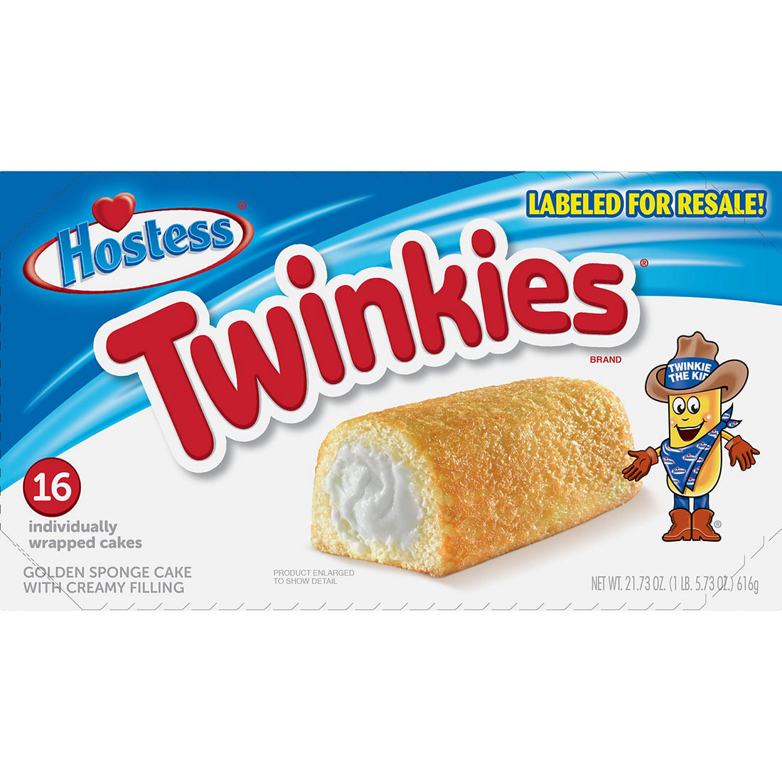 Hostess Twinkies Individually Wrapped Cakes, 16 ct