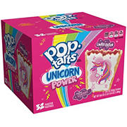 Kellogg's Unicorn Power Frosted Cherry Pop Tarts, 2 pk./29.3 oz.