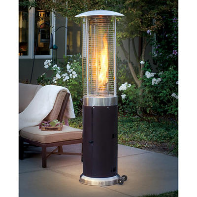 Bond Two Tone 46 000 Btu 6 Induction Patio Heater