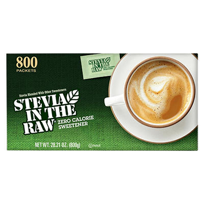 Stevia In The Raw Zero-Calorie Sweetener, 800 ct.