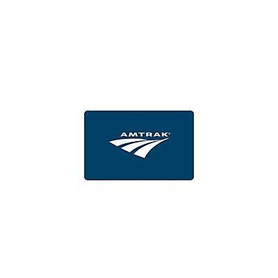 $50 Amtrak Gift Gard