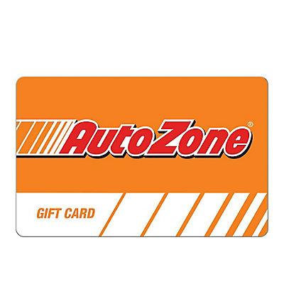 $25 AutoZone Gift Card
