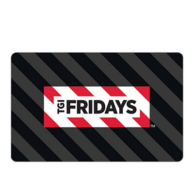$25 TGI Friday's Gift Card