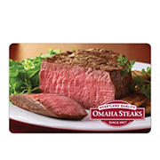 $25 Omaha Steaks Gift Card