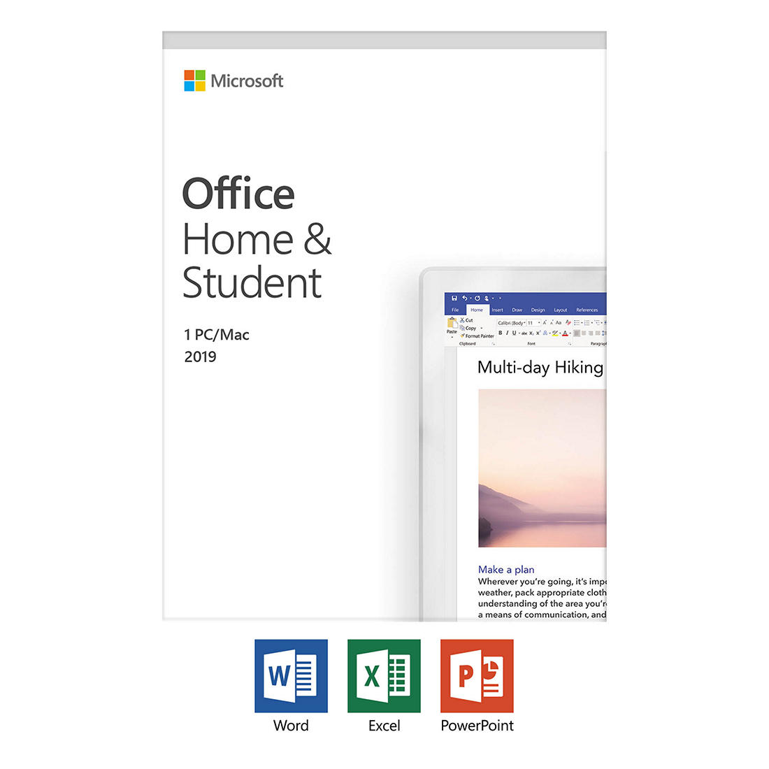 Msoffice Home and Student 2019 mac