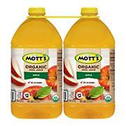 Mott's Organic Apple Juice, 2 pk./128 fl. oz.