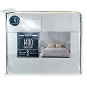 Rosewood 1400-Thread-Count Queen-Size Sheet Set - Gray