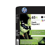 HP 65 XL Combo Ink Cartridges, 2 pk.