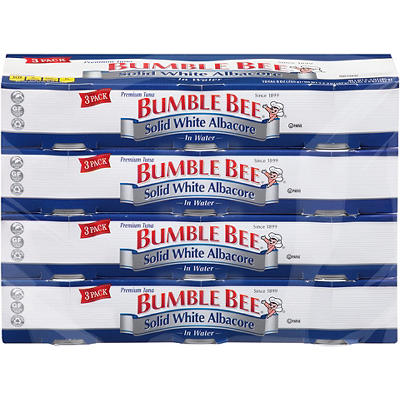 Bumble Bee Premium Albacore Tuna in Water, 12 pk./3 oz.