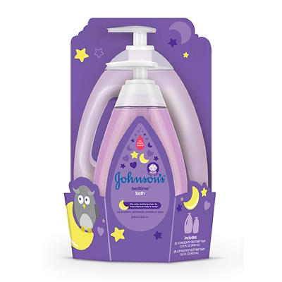 Johnson's Bedtime Baby Moisture Wash, 33.8 fl. oz. Plus 13.6 fl. oz.