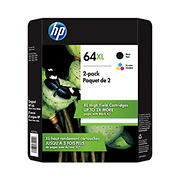 HP 64XL Combo Ink Cartridges, 2 pk.