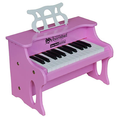 Schoenhut 25-Key Digital Table Top Piano - Pink