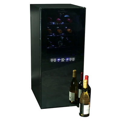Koolatron Urban Series 24-Bottle Dual-Zone Wine Cooler