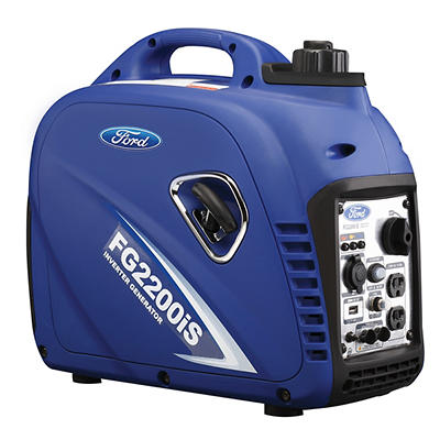 Ford 2,200W Peak/2,000W Rated Gas-Powered Inverter Generator