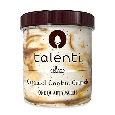 Talenti Caramel Cookie Crunch Gelato, 1 qt.