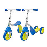 K2 Child Walker 3-Wheel Scooter & Ride-On Balance Trike - Blue