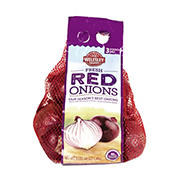 Wellsley Farms Red Onions, 3 lbs.