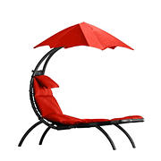Vivere Original Dream Lounger - Cherry Red