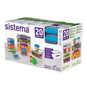 Sistema KLIP IT Collection 20-Pc. Food Storage Container Set
