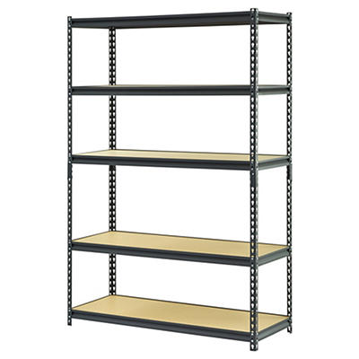 Muscle Rack 5-Tier Heavy-Duty Steel Shelving Rack