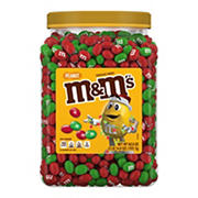 M&M'S Peanut Holiday Pantry Jar, 62 oz.