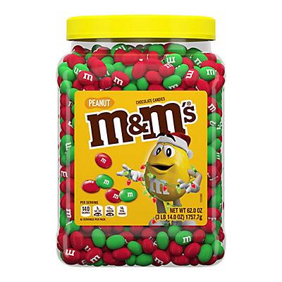 M&M'S Peanut Holiday Pantry Jar, 62 oz.
