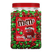 M&M'S Milk Chocolate Holiday Candy Pantry Size Jar, 62 oz.