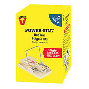 Victor Power-Kill Rat Traps, 2 pk.
